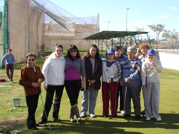 Escuela Golf Adaptado
