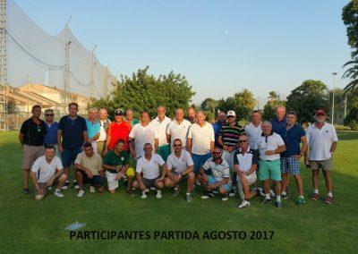 Participantes de agosto