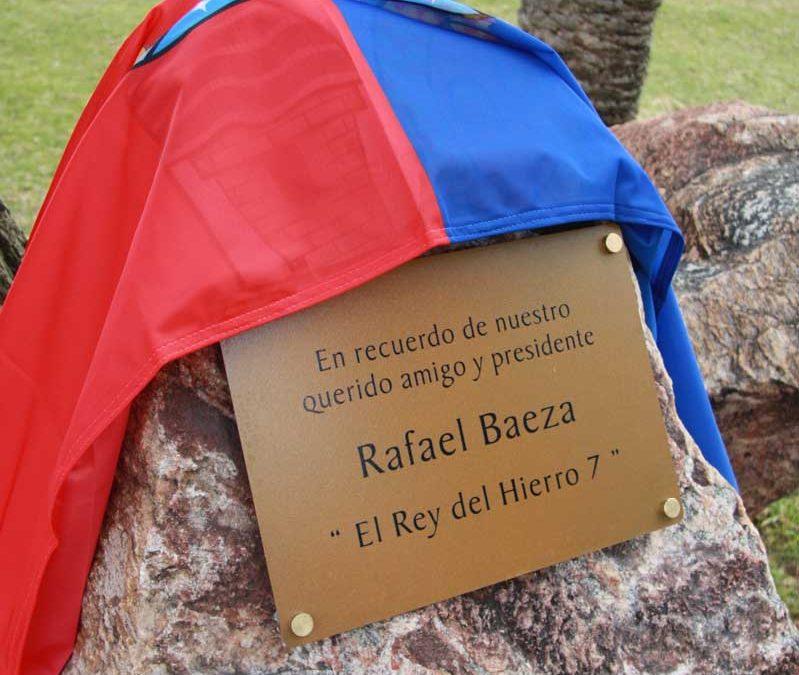 2018 Placa homenaje a Rafael Baeza
