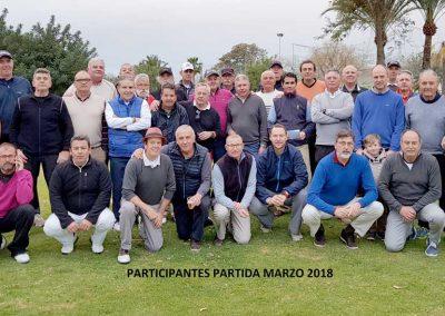 Participantes de la prueba