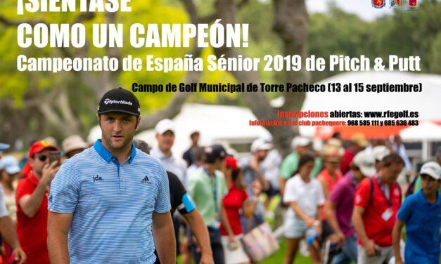 Aviso / Cpto. de España Sénior 2019