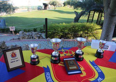 Mesa de premios