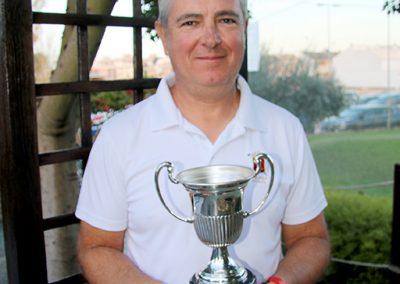 El campeón Ángel Ríos