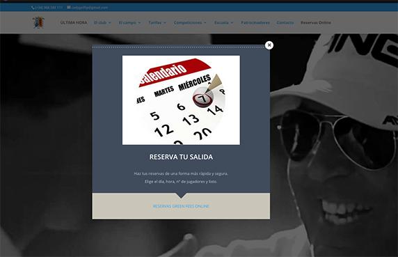 AVISO / RESERVAS ONLINE