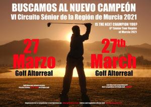 1ª prueba del Circuito Sénior de la Región de Murcia @ Golf Altorreal