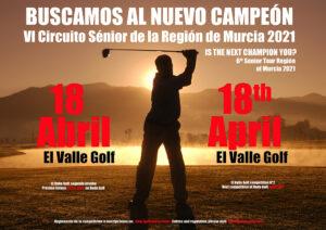 2ª prueba del Circuito Sénior de la Región de Murcia @ El Valle Golf