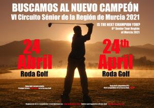 3ª prueba del Circuito Sénior de la Región de Murcia @ Roda Golf